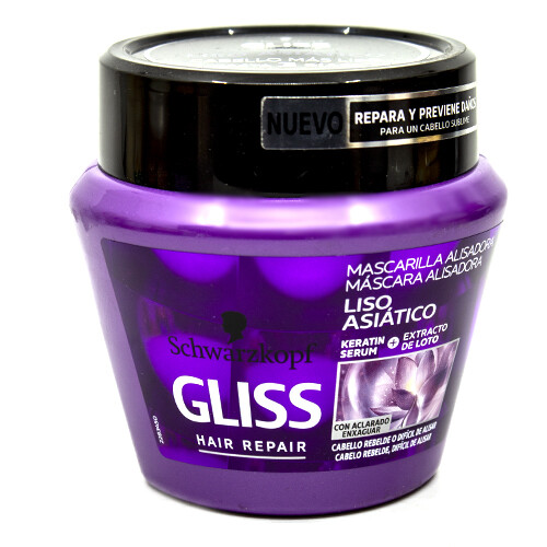 GLISS MASC LLIS ASI?TIC 300ML