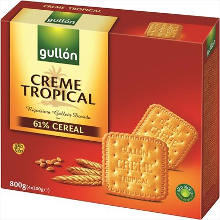 GULLON CREME TROPICAL 800G