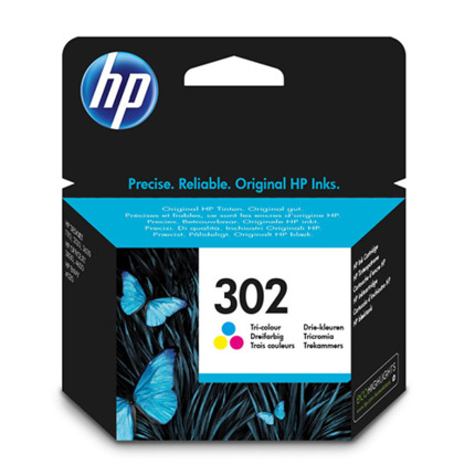 HP 302 COLOR CARTUTXO IMPRESSORA