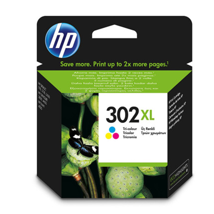 HP 302XL COLOR CARTUTXO IMPRESSORA