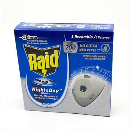 RAID INSECTICIDA ELECTRIC NIGHT&DAY RECARREGABLE