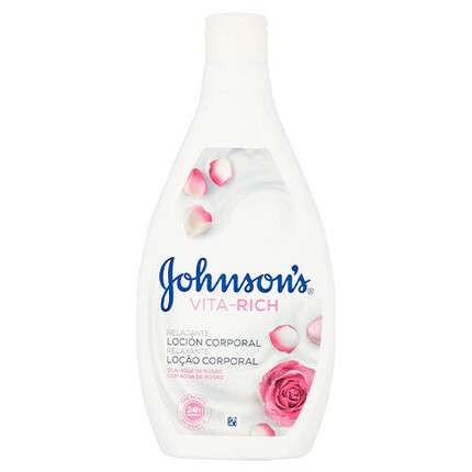 JOHNSON'S VITA RICH LOCIO ROSA 400ML
