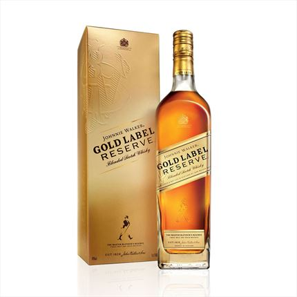 J.WALKER GOLD RESERVE 70CL....