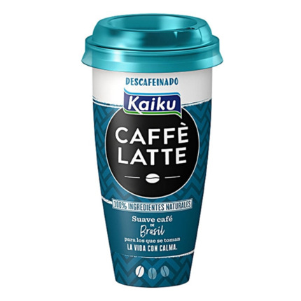 KAIKU CAFFE LATTE DESCAFEÏNAT 230ML