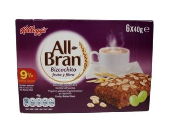 KELLOGG´S BESCUIT ALL BRAN X6