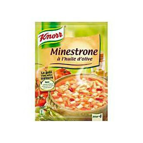 KNORR MINESTRONE 4 P