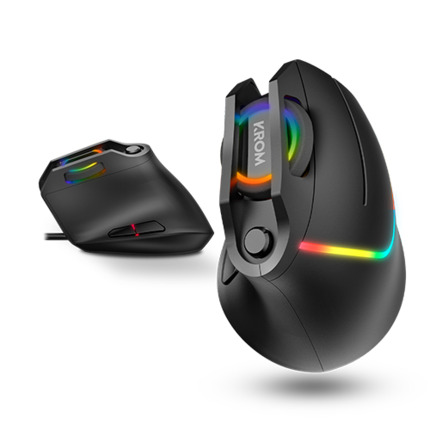 KROM KAOX RGB MOUSE GAMING VERTICAL