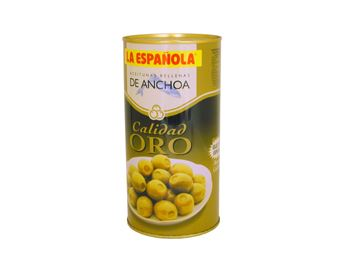 LA ESPA?OLA  OLIVES FARCIDES D'ANXOVES 830GR