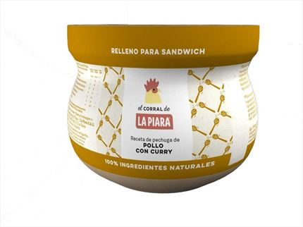 LA PIARA EL CORRAL PATE AL CURRY 180GR