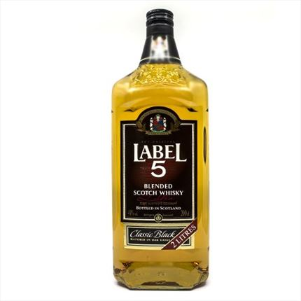 LABEL 5 WHISKY 2L.