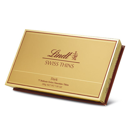 LINDT DARK THINS 200