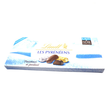 LINDT LES  PYRENEENS ASSORTIMENT POT 262GR