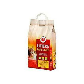 LITIERE PARFUMEE CHAT U SAC 7L