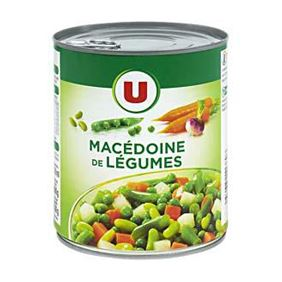MACEDOINE LEGUMES U BTE OF 4/4