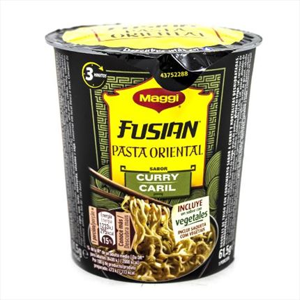 MAGGI PASTA ORIENTAL SABOR CURRY CUP 60GR