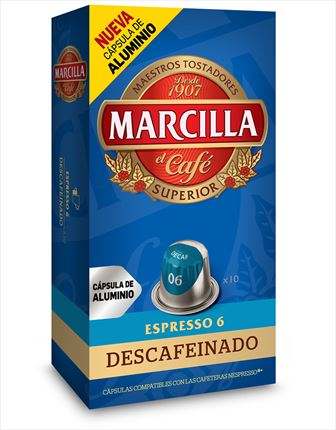 MARCILLA CAFE DESCAF. X10