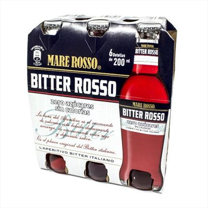 MARE ROSSO BITTER 20 CL.X 6