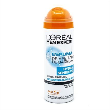MEN EXPERT SENSITIVE ESPUMA AFEITADO 200 ML