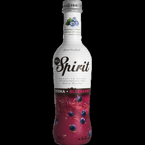 MG SPIRIT VODKA BLUEBERRY 275 ML.