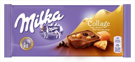 MILKA COLLAGE 93GR TOFFE AVELLANA