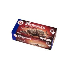 MINI BROWNIE PEPITES CHOC.U X8