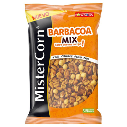 MISTERCORN C?CTEL DE FRUITS SECS MIX BARBACOA 195GR
