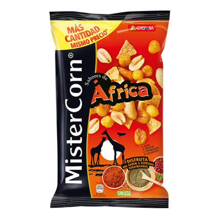 MISTERCORN COCKTAIL AFRICA 195GR