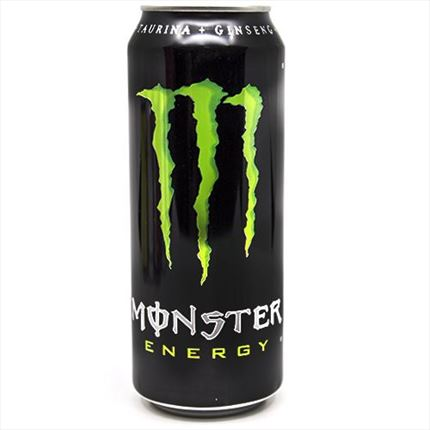 MONSTER ENERGY DRINK GREEN 500CL.