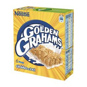 NESTLE GOLDEN GRAHAMS X6