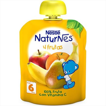 NESTLE POUCHES 4 FRUITES