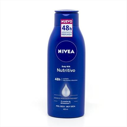 NIVEA BODY MILK NUTR.400ML