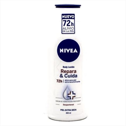 NIVEA REPAR BODY+CREMA MANS 400ML