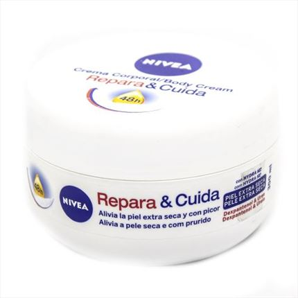 NIVEA REPAR.BODY POT+CRE.MANS 300ML