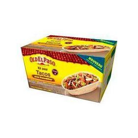 OLD EL PASO KIT PACOS PANADILLAS 345GR