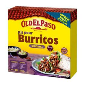 OLD PASO KIT BURRITOS 510GR