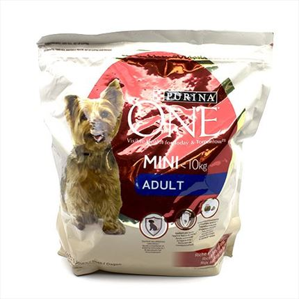 PURINA ONE GOS ADULT MINI BOU/ARROS 1,5KG