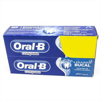 ORAL B COMP. RENT.BUCAL+BLA 2X75ML