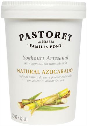 PASTORET IOGURT NATURAL ENSUCRAT 4X125GR
