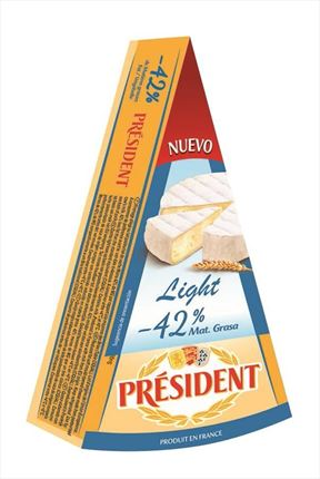 PRESIDENT BRIE LIGHT 42%MG 250GR