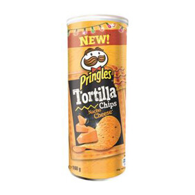 PRINGLES TORTILLA NACHO CHEESE 160G