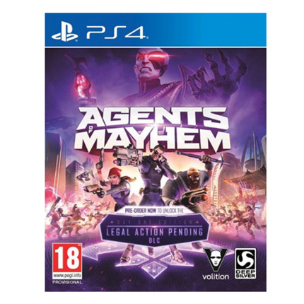 PS4 AGENTS OF MAYHEM (DAY ONE EDITION)