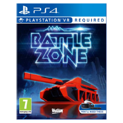 PS4 BATTLEZONE (VR)