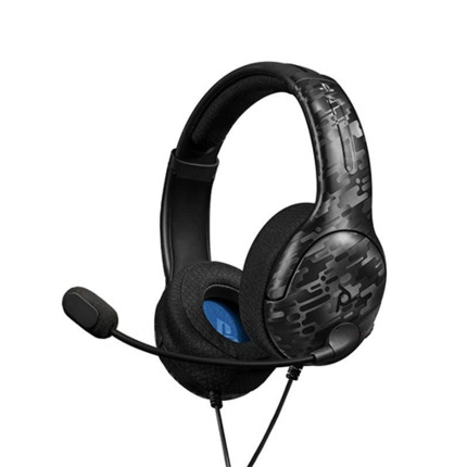 PS4 LVL40 WIRELESS CAMO AURICULAR GAMING LICENCIA