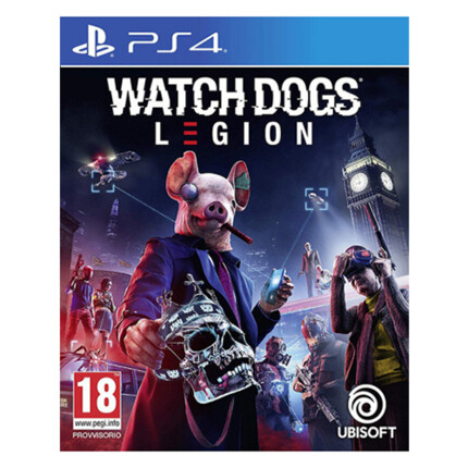 PS4 WATCH DOGS LEGION