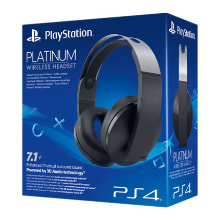 PS4 WIRELESS STEREO PLATINUM HEADSET 7.1+ (SONY) PS4/VR/PC/M
