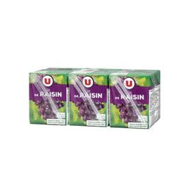 PUR JUS RAISIN U PK 6X20CL