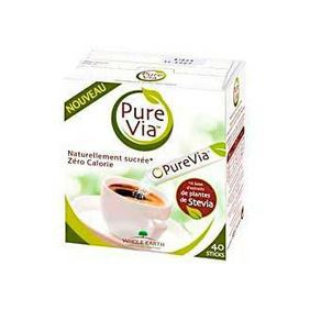 PURE VIA SUCRE 40STICKS 60GR