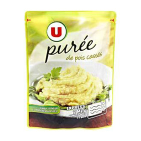 PUREE DE POIS CASSES U DP 250G