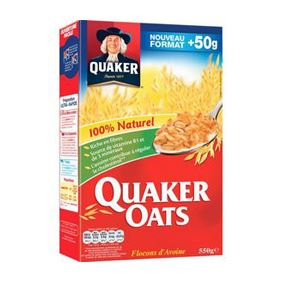 QUAKERS OATS 500 GR