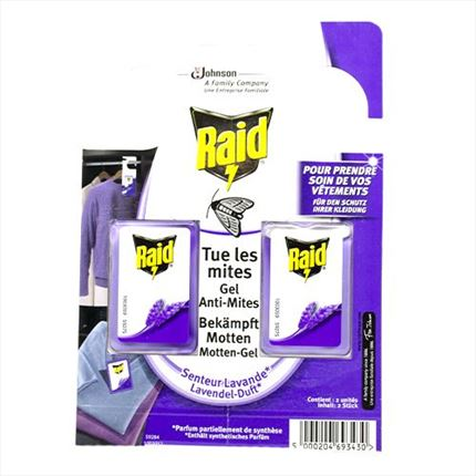 RAID GEL ANTI-ACARS X2